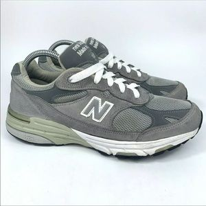 New Balance 993 WR993GL Made In USA Gray Suede
